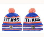 NRL Beanies Gold Coast Titans Blue Orange White