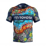 North Queensland Cowboys Rugby Shirt 2018-19 Indigenousus