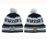 NRL Beanies New Zealand Warriors Black Gray White