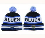NRL Beanies Blatchys Blues Royal Blue White