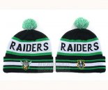 NRL Beanies Oakland Raiders Green Black White