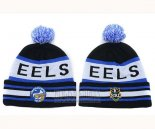NRL Beanies Parramatta Eels Royal Blue Black White