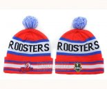 NRL Beanies Sydney Roosters Red Royal Blue White