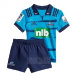 Kid's Kits Blues Rugby Shirt 2018 Home