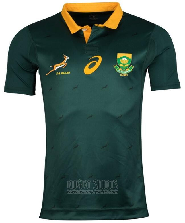 South Africa Rugby Shirt 2017-18 Green