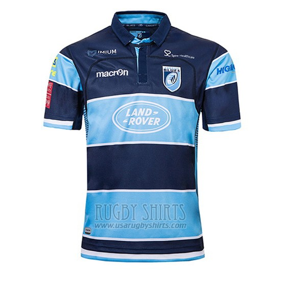 5d92f20d6b1 Wholesale Blues Rugby Shirts - Jersey Blues Rugby 2018-19 Home | www ...